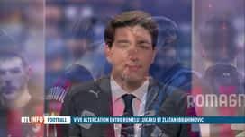 RTL INFO 13H : Grosse altercation entre Romelu Lukaku et Zlatan Ibrahimovic