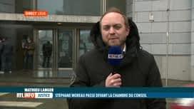 RTL INFO 13H : Affaire Nethys: Stéphane Moreau et Pol Heyse devant la chambre du c...