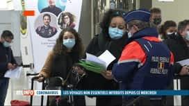 RTL INFO 19H : Coronavirus: seuls les voyages essentiels autorisés à partir de ce ...