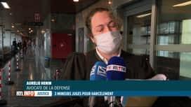 RTL INFO 19H : Suicide de Maëlle: ouverture du procès de trois harceleurs