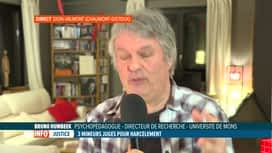 RTL INFO 19H : Harcèlement scolaire: le point en direct avec Bruno Humbeeck