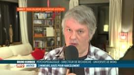 RTL INFO 19H : Harcèlement scolaire: Bruno Humbeeck évoque le rôle de l'école