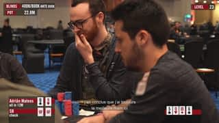 Adrián Mateos au Caribbean Poker Party 2019 - épisode 10