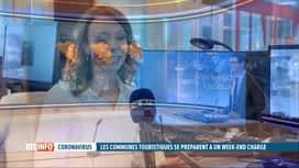 RTL INFO 19H : Vanessa Matagne fait le point sur les prévisions météo du week-end