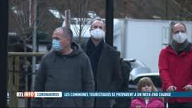RTL INFO 19H : Beau temps : Durbuy se prépare à un afflux de visiteurs