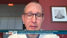 RTL INFO 13H : Coronavirus: alerte des généralistes à propos du mal-être des Belges