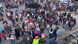 RTL INFO 19H : Des centaines de personnes participent à un carnaval clandestin à L...