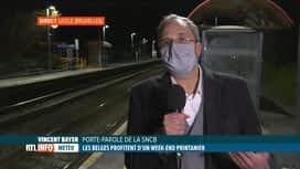 RTL INFO 19H : Affluence de touristes à la Mer du Nord: réaction de la SNCB