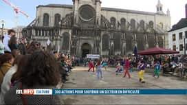 RTL INFO 19H : Journée de mobilisation du secteur culturel pour réclamer du soutien