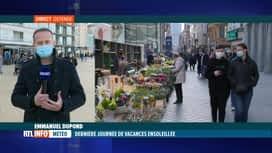 RTL INFO 19H : La Côte Belge fait le plein de touristes en ce dernier jour de vaca...