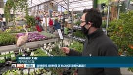 RTL INFO 19H : La météo printanière incite les Belges à reprendre le jardinage