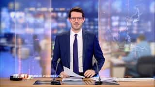 RTL INFO 13H : RTL INFO 13 heures (21/02/21)