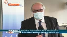 RTL INFO 13H : Coronavirus: Vincent Frédéricq évoque l'assouplissement dans les homes