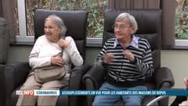 RTL INFO 13H : Coronavirus: assouplissements annoncés dans les maisons de repos