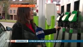 RTL INFO 13H : Forte hausse des carburants ces dernières semaines