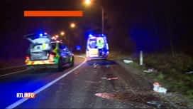 RTL INFO 13H : Un décès sur trois dans la circulation est dû à un obstacle en bord...