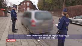 Enquêtes : Motards à Charleroi/Interventions à Bruxelles