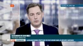 RTL INFO 19H : Coronavirus: les mesures sanitaires belges plus ou moins strictes q...