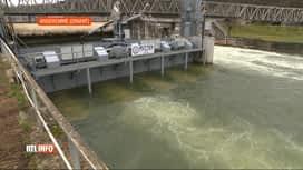 RTL INFO 19H : Anseremme: une centrale hydroélectrique amovible inaugurée sur la M...