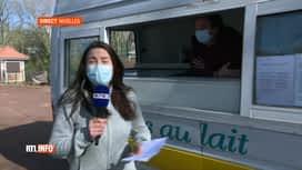 RTL INFO 13H : Météo: en direct de Nivelles avec Aurélie Henneton