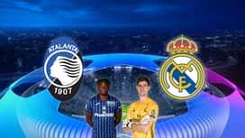Champions League : 24/02 : Atalanta - Real Madrid