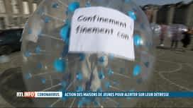 RTL INFO 19H : Coronavirus: les maisons de jeunes veulent rouvrir
