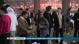 RTL INFO 13H : Immense rassemblement au parc de la Boverie à Liège
