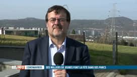 RTL INFO 13H : Rassemblement au parc de la Boverie à Liège: le bourgmestre réagit