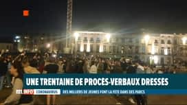 RTL INFO 13H : Des jeunes se rassemblent à Gand et Louvain