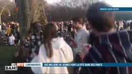 RTL INFO 13H : Fête improvisée au Bois de la Cambre à Bruxelles