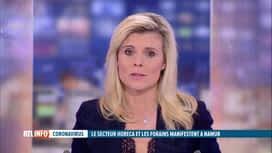 RTL INFO 19H : Coronavirus : opération escargot à Namur