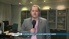 RTL INFO 19H : Coronavirus : Fabian Hermans s'exprime sur la situation dans l'Horeca
