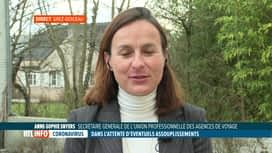 RTL INFO 13H : Les agents de voyages espèrent que les séjours à l'étranger pourron...