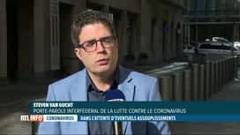 RTL INFO 13H : Coronavirus: le point sur les chiffres de l'épidémie en Belgique