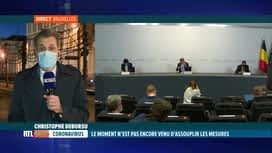 RTL INFO 19H : Comité de concertation: on s'attendait à des assouplissements