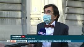 RTL INFO 19H : Comité de concertation: l'horaire du couvre-feu change en Wallonie