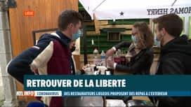 RTL INFO 19H : Coronavirus: action de l'horeca au lendemain du comité de concertation