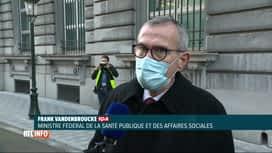 RTL INFO 19H : Coronavirus: les dernières statistiques médicales sont inquiétantes
