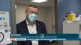 RTL INFO 19H : Coronavirus: un vaccin chinois va être testé en Belgique