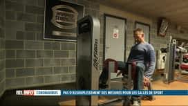 RTL INFO 19H : Coronavirus: les salles de fitness au bord de la faillite