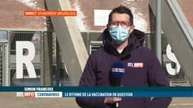 RTL INFO 13H : Coronavirus: du retard annoncé dans les centres de vaccination brux...