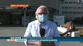 RTL INFO 13H : Coronavirus: l'avis de Marc Noppen sur la campagne de vaccination