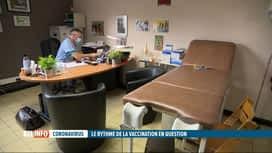 RTL INFO 19H : Coronavirus: un problème logistique empêche les généralistes de vac...