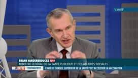 RTL INFO 13H : Stratégie de vaccination: l'avis du Conseil Supérieur de la Santé t...