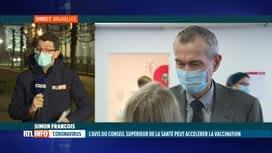 RTL INFO 19H : Stratégie de vaccination: les ministres de la Santé se réunissent c...