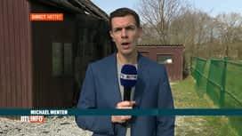 RTL INFO 13H : Incendie d'un chalet à Mettet, le 3ème feu en 4 jours dans la commune