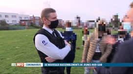 RTL INFO 13H : Coronavirus: la police boraine adopte désormais une approche plus d...