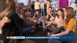 RTL INFO 13H : Entre 2 et 3 mille jeunes ont fait la fête au parc de la Boverie à ...