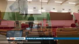 RTL INFO 13H : Comité de concertation: vers un retour de 20% des étudiants dans le...