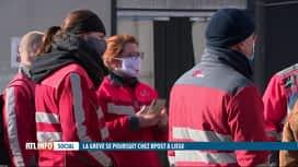 RTL INFO 13H : La grève des facteurs de bpost dure depuis 8 jours à Liège